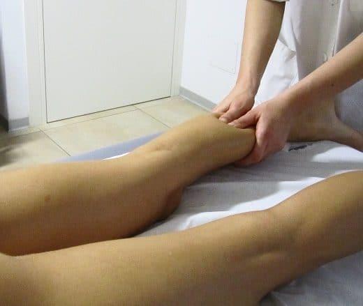 Linfodrenaggio Manuale Gamba Fisioterapia Dott. Notarrigo San Lazzaro Bologna