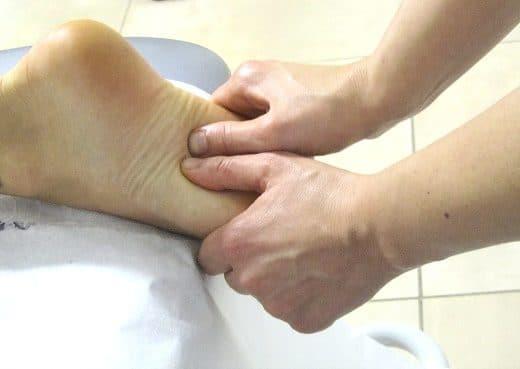 Linfodrenaggio Piede Fisioterapia Dott. Notarrigo San Lazzaro Bologna