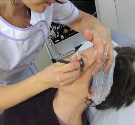 Corso di Camouflage Make Up Occhi Dott. Notarrigo Medicina Estetica San Lazzaro Bologna