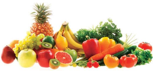la dieta mediterranea frutta e verdura