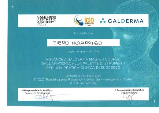 Master avanzato acido ialuronico e tossina botulinica Bologna