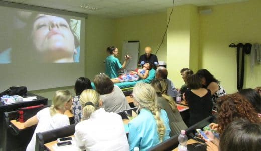Docenza al Master di Medicina Estetica - Dott. Notarrigo - Bologna